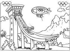 meester Henk - Olympische Winterspelen :: olympischewinterspelen.yurls.net Physical Education Games, Olympic Games, Olympia, Little Ones, Coloring Pages, Printables, School, Blue Prints, Quote Coloring Pages