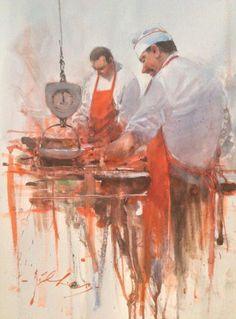 Joseph Zbukvic - Red Hill Art Gallery - Brisbane