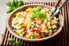 Grilled Corn and Black Bean Salad with Rice. Grilled Corn and Black Bean Salad with Rice Recipes Grilled Corn and Black Bean Salad with Rice. A healthy and colorful summer side dish that takes less th. Quinoa Salat, Brown Rice Recipes, Summer Grilling Recipes, Potluck Dishes, Cooking Recipes, Healthy Recipes, Bean Salad, Black Beans, Mexican Food Recipes