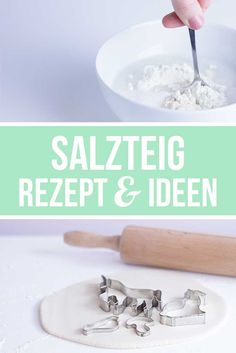 Salzteig ideen und rezept basteln mit kindern salzteig for Salzteig ideen