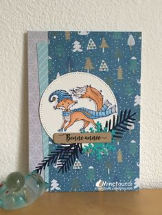 December Daily, Woodworking Projects, Crafts, Nouvel An, Attention, Action, Card Making, Pretty Cards, Greeting Cards