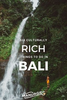Top 6 Culturally RICH things to do in Bali, Indonesia