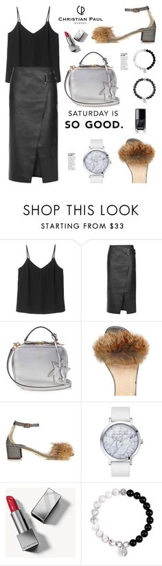 """Christianpaul.com.au: Saturday is so good!!"" by hamaly ❤ liked on Polyvore featuring Topshop, Mark Cross and Burberry"