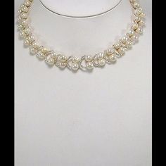 Fresh Water Pearl Necklace. Handmade Fresh Water Pearls and Seed Beads Necklace. Jewelry Necklaces