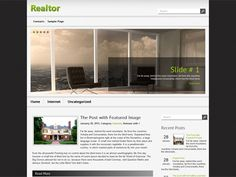 Realtor theme is a perfect design for realty or business website. The theme uses SMT framework should have lot features to help you easily manage and control in the admin dashboard.