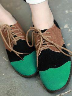 green/black/brown