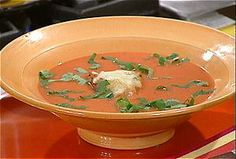 Quick Creamy Tomato Soup from FoodNetwork.com