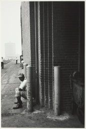Robert Frank American, born Switzerland 1924, Factory, Detroit