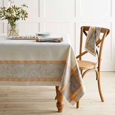 Villa Jacquard Tablecloth | Williams-Sonoma