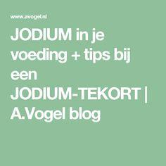 JODIUM in je voeding + tips bij een JODIUM-TEKORT | A.Vogel blog