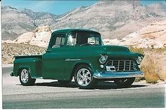 Read More About 55 chevy Of Course. Classic Pickup Trucks, Old Pickup Trucks, Hot Rod Trucks, Gm Trucks, Cool Trucks, Defender 90, Land Rover Defender, 55 Chevy Truck, Chevrolet Trucks