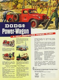 Throwback for the classic Power Wagon
