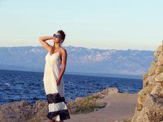 Summer dress in Croatia - Dlhé letné šaty - Chorvátsko