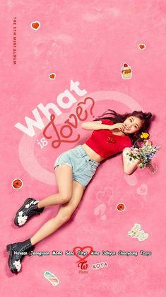 "TWICE The 5th Mini Album ""What is Love"" 2018.04.09 6pm #Jihyo"