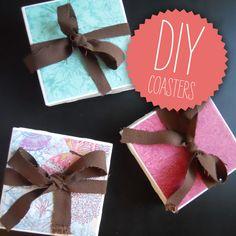Lynn & Lou: Tile Coasters