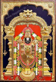 Original hand made tanjore paintings Indian Goddess Kali, Goddess Lakshmi, Kabir Quotes, Lord Murugan Wallpapers, Online Art Store, Lord Balaji, Lord Shiva Painting, Pooja Room Design, Lord Krishna Images