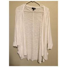 A.N.A Cardigan A.N.A Cardigan. Size medium . Dolman 3/4 sleeve. New. Never worn but planned on it a.n.a Sweaters Cardigans