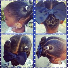 """123 Likes, 13 Comments - D'Asia & RyLei Kai  (@iamawog) on Instagram: """"Ponytails into a low bun aka my mommy is lazy today bun lol #embraceyour_natural #natural_girlsrock…"""""""