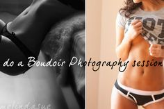 do a boudoir photography session