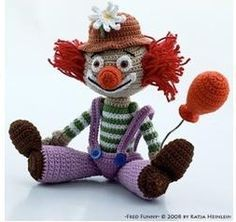 Clown Amigurumi - FREE Crochet Pattern / Tutorial