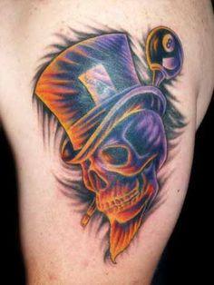tophat skull