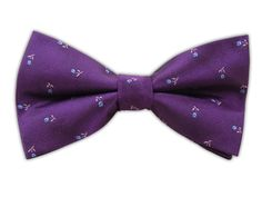 Tossed Flowers - Plum (Bow Ties) | Ties, Bow Ties, and Pocket Squares | The Tie Bar $19