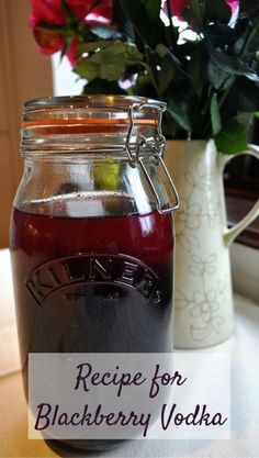 Blackberry Vodka Recipe