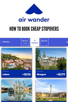 Book your next flight with AirWander a flight search engine that specializes in discovering routes with free or cheap stopovers. This is an easy way to visit two or more destinations for the price of one! Low Cost Flights, Book Cheap Flights, Cheap Travel, Budget Travel, Travel Tips, Usa Mobile, Mobile App, Flight Search Engine, Backpacking Tips