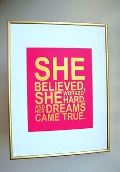 it better come true #belief #hardwork #success