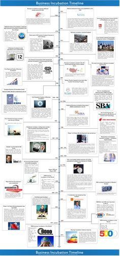 Business Incubation Timeline (infographic)