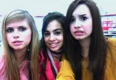 Demi with the as the bell rings girls:)
