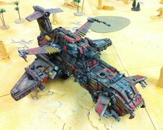 Ork Thunderhawk! - Apocalypse 40K - The 40K Daily Buzz
