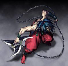 Samurai Showdown 3: Blades of Blood Basara Kubikiri weapon #EveryoneCanCosplay…