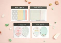 Tracing Paper Index Sticky Note [ 4 Types ] / Note pad / Memo pad / 101405289