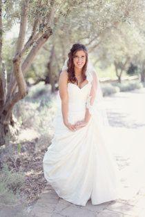 cute bridal picture