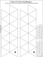 hexaflexa gons   How to Make a Hexa-hexaflexagon - Geometric Toys to Make - Aunt Annie ...