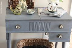 foyer table chalk paint annie sloan project