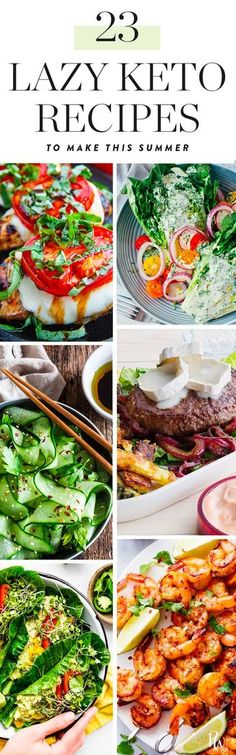 22 Low-Maintenance Keto Recipes to Make this Summer