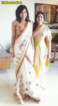 Learn how to wear a saree like a Bollywood celebrity! Celebrity stylist Kalpana Shah shows us how she drapes Katrina Kaif, Kareena Kapoor