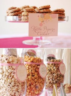 """Baby shower """"ready to POP"""" theme"""