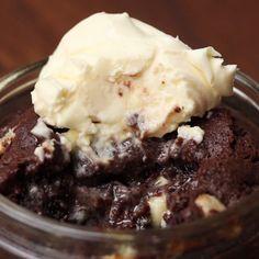 Brownie Fudge Puddings