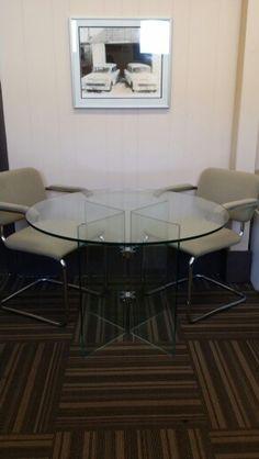Beautiful Custom Glass Table #customWork #glass #NewAngleGlass For All Your  Glass Needs!