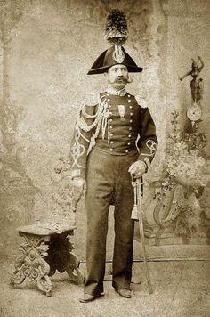 Carabiniere, veteran of Risorgimento, 1875   #TuscanyAgriturismoGiratola