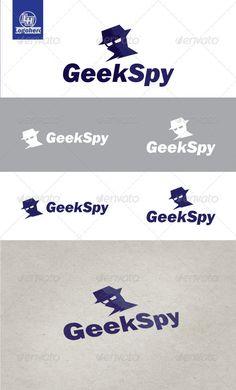 Geek Spy Logo Design Template Vector #logotype Download it here: http://graphicriver.net/item/geek-spy-logo-template/3263824?s_rank=255?ref=nesto