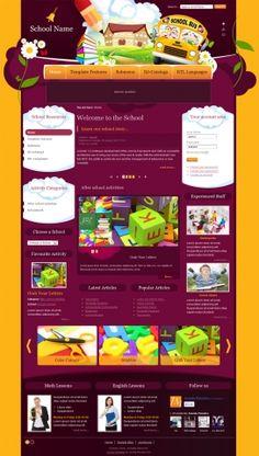 DJ-Education, yellow background  template version