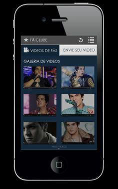 Fã Clube - Vídeos - Mobile