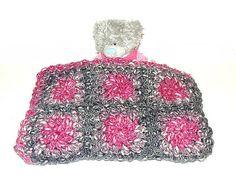 Handmade Alpaca Mohair Blanket  crochet by CrochetRagRug on Etsy