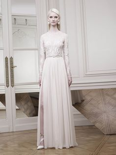 ELIE SAAB Resort 2015  This is my dream wedding dress. It's just sooo beautiful. no one does it like Elie. God bless that man