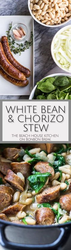 As the weather continues to cool, White Bean & Chorizo Stew will keep ...