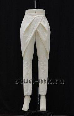 Origami dress pattern fashion design ideas for 2019 fashion details Moda Origami, Fashion Sewing, 80s Fashion, Fashion Pants, Dress Fashion, Boho Fashion, Fashion Outfits, Clothing Patterns, Dress Patterns
